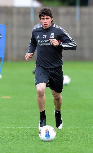Insua back in training