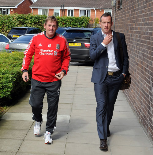 King Kenny and Charlie Adam, three