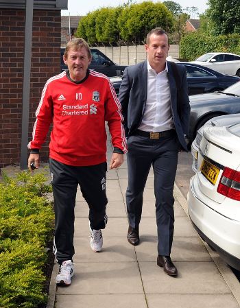 King Kenny and Charlie Adam, one