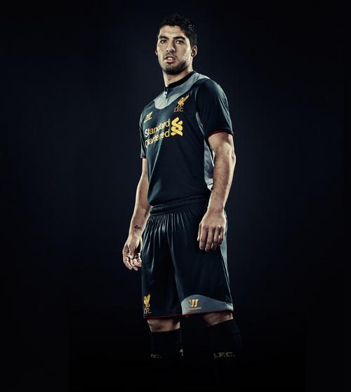 Liverpool uitshirt 2012-2013